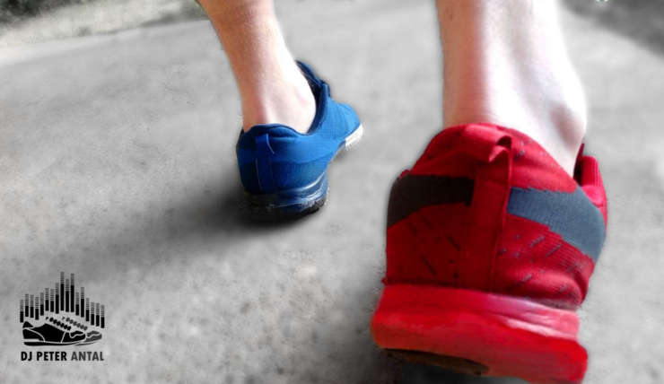 Red and Blue Shoes: A personality statement or a way of life?